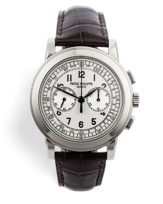 ref 5070G | White Gold 'Full Set' | Patek Philippe Chronograph