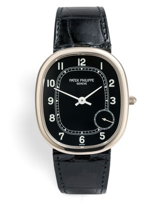 ref 5028G-001 | 'White Gold' Jumbo | Patek Philippe Golden Ellipse