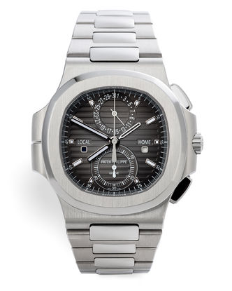 ref 5990/1A-001 | Travel Time 'Two Year Patek Warranty'  | Patek Philippe Nautilus