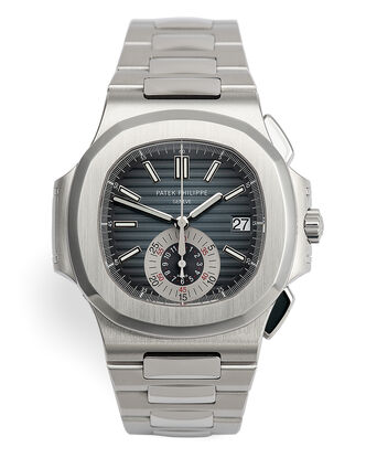 ref 5980/1A-001 | 'Just Serviced by Patek Philppe' | Patek Philippe Nautilus Chronograph