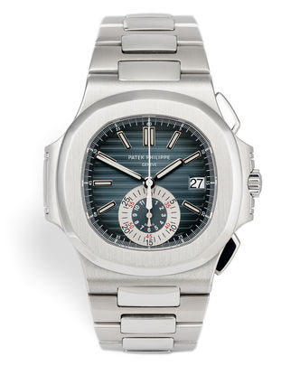 ref 5980/1A-001 | Rare First Series 'Blue Dial'  | Patek Philippe Nautilus Chronograph
