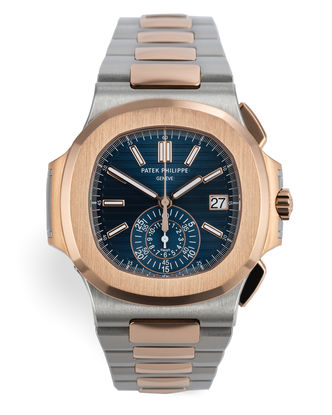 ref 5980/1AR-001 | Rose Gold & Steel 'Full Set' | Patek Philippe Nautilus Chronograph