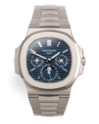 ref 5740/1G-001 | White Gold 'Grand Complication' | Patek Philippe Nautilus Perpetual Calendar