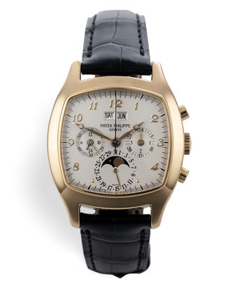 ref 5020J | Rare TV-Shape 'One of 200' | Patek Philippe Perpetual Calendar Chronograph