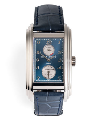 ref 5101G-001 | 'Rarest Blue Dial' | Patek Philippe Ten-Day Tourbillon