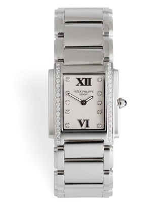 ref 4910/10A-011 | Diamond-Set, Box & Papers | Patek Philippe Twenty-4