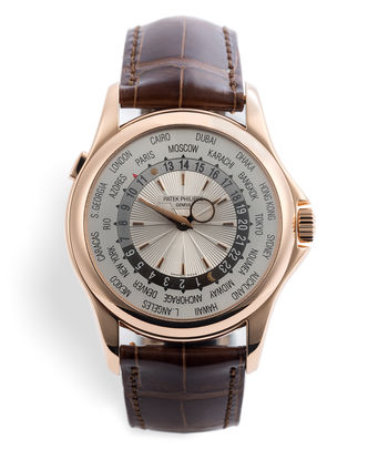 ref 5130R-001 | Complete With Box & Papers | Patek Philippe World Time