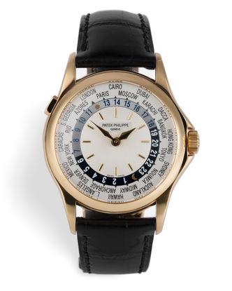 ref 5110J-001 | Yellow Gold 'Complete Set' | Patek Philippe World Time
