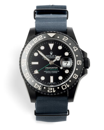 ref 116710LN | Limited Edition 'One of 100' | Pro Hunter GMT-Master II