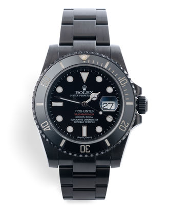 ref 116610LN | Limited Series '1 of 100' | Pro Hunter Submariner Date
