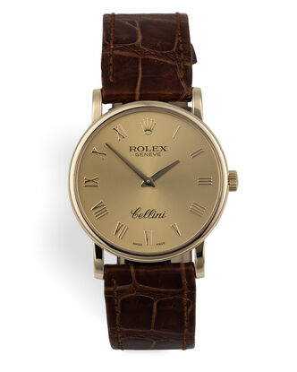 ref 5115/8 | Box & Certificate | Rolex Cellini