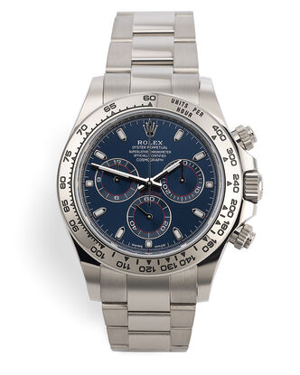 ref 116509 | White Gold - Under Rolex Warranty | Rolex Cosmograph Daytona