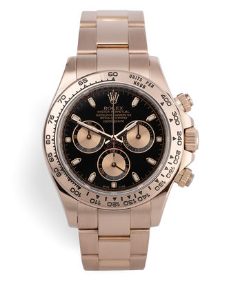 ref 116505 | Everose Gold Box & Papers | Rolex Cosmograph Daytona