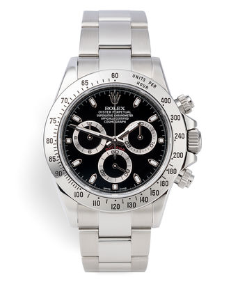 ref 116520 | Final Model 'Complete Set' | Rolex Cosmograph Daytona