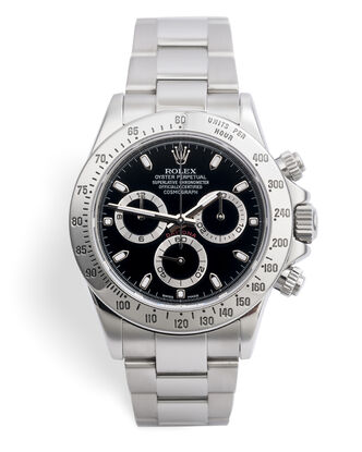 ref 116520 | Serviced By Rolex | Rolex Cosmograph Daytona