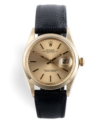 ref 1500 | '14ct Yellow Gold' | Rolex Date