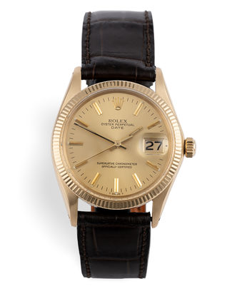 ref 1501 | 18ct Yellow Gold | Rolex Date