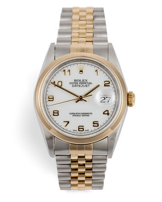 ref 16203 | 18ct Yellow Gold & Steel | Rolex Datejust