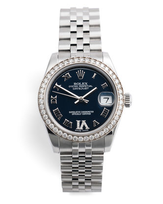 ref 178384 | Diamond Bezel 'Full Set' | Rolex Datejust 31