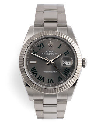 ref 126334 | Rolex International Warranty | Rolex Datejust 41