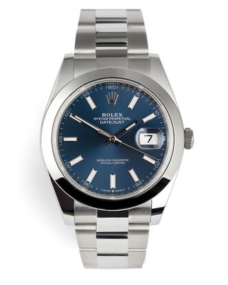 ref 126300 | Rolex Warranty to 2026 | Rolex Datejust 41