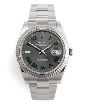 ref 126334 | White Gold Bezel Complete Set | Rolex Datejust 41