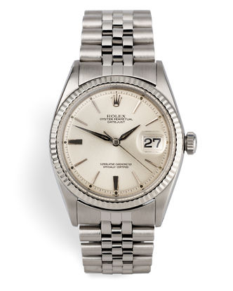 ref 1601 | Vintage 'Chamfered Dial' - Early Hands | Rolex Datejust
