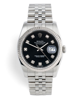 ref 116234 | Diamond Dial | Rolex Datejust