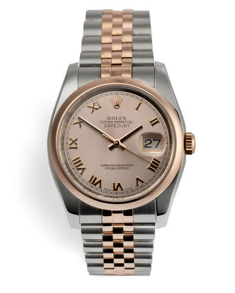 ref 116201 | Everose & Steel 'Box & Papers' | Rolex Datejust