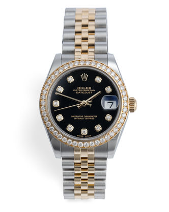 ref 178383 | Full Diamond Bezel 'Box & Certificate' | Rolex Datejust