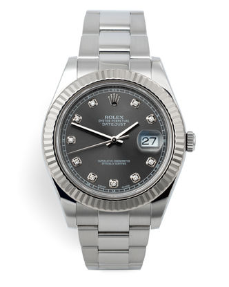 41mm Diamond Dial | ref 116334 | Rolex Datejust II