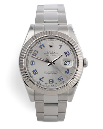 ref 116334 | 41mm White Gold Bezel | Rolex Datejust II