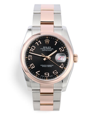 ref 116201 | Steel & Rose Gold | Rolex Datejust