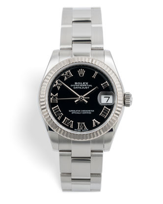 ref 178274 | White Gold Bezel 'Full Set' | Rolex Datejust