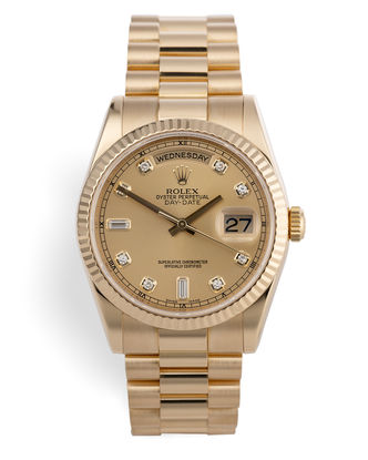 ref 118238 | Diamond Dial 'Full Set' | Rolex Day-Date