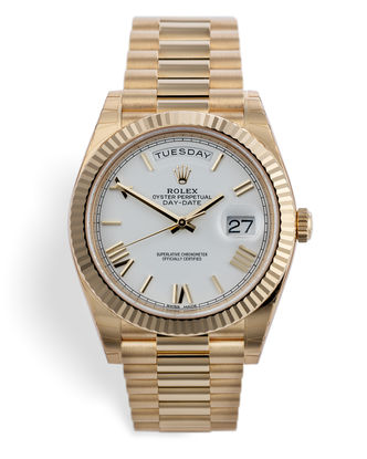 ref 228238 | 'Fully Stickered' Rolex Warranty to 2024 | Rolex Day-Date