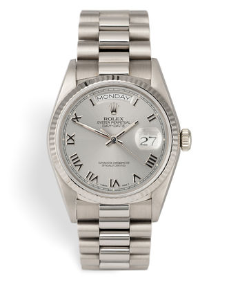 ref 18039 | White Gold 'Box & Certificate' | Rolex Day-Date