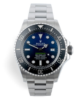 ref 126660 | 5 Year Warranty '3235' | Rolex Deepsea D-Blue