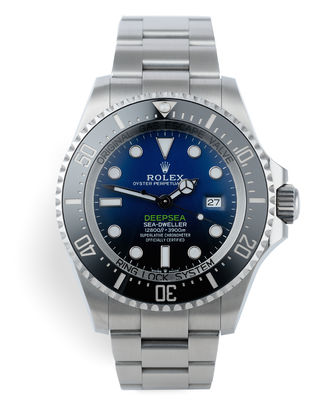 ref 126660 | 5 Year Warranty 'Latest 3235 Calibre' | Rolex Deepsea D-Blue