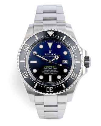 ref 116660 | Under Rolex Warranty - UK Supplied | Rolex Deepsea D-Blue