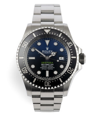 ref 126660 | Rolex International Warranty | Rolex Deepsea D-Blue