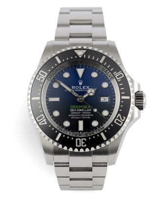 ref 126660 | Under Rolex Warranty | Rolex Deepsea D-Blue
