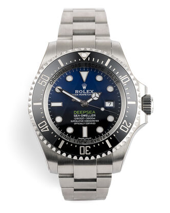 ref 116660 | Unworn With Factory Stickers  | Rolex Deepsea D-Blue