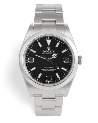 ref 214270 | 39mm Box & Papers | Rolex Explorer