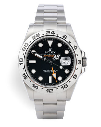 ref 216570 | Box & Cert 'Orange Hand' | Rolex Explorer II