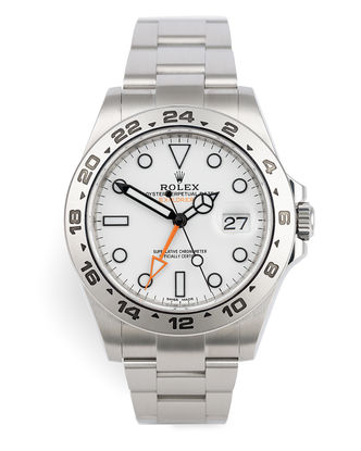 ref 216570 | Polar Dial 'Full Set' | Rolex Explorer II