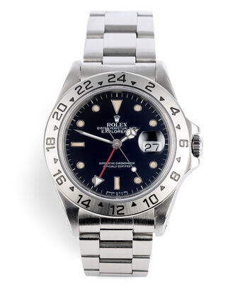 ref 16570 | Under Rolex Service Warranty | Rolex Explorer II