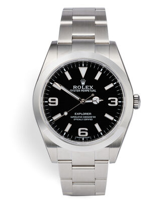 ref 214270 | Rolex Warranty to 2022 | Rolex Explorer