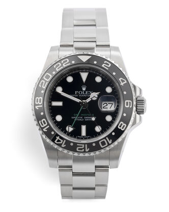 ref 116710LN | Box & Certificate - Final Series | Rolex GMT-Master II