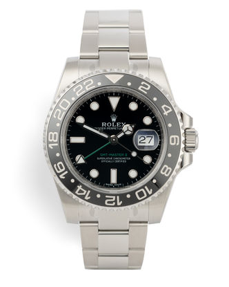 ref 116710LN | Discontinued Model 'Fully Stickered' | Rolex GMT-Master II